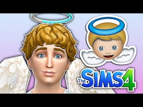 The Sims 4 Emoji Challenge: Angel Emoji