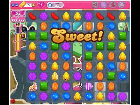 Candy Crush Saga Level 35 - 2 Stars No Boosters