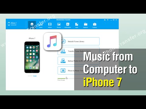 How to Add Music from Computer to iPhone 7, Transfer Music from PC to iPhone 7