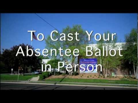 Olmsted County Absentee Voting HD