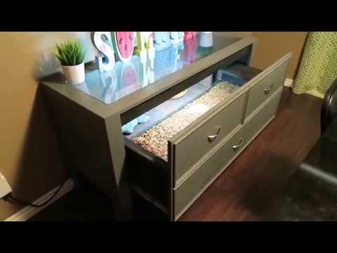 New DIY Tortoise Table!!!