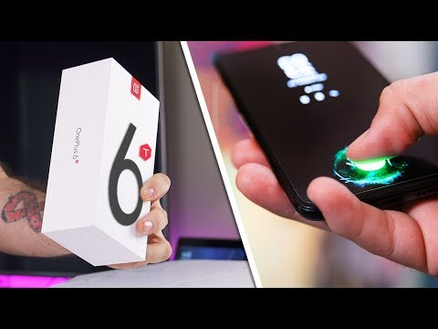 OnePlus 6T Unboxing & Fingerprint Scanner Review! - Impressions