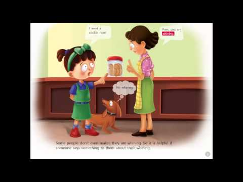 Whining - Read Along book with word highlighting by Smart Kidz Club