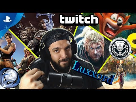 O Luxxord Eν Δράση! (Twitch Funny Moments Compilations)