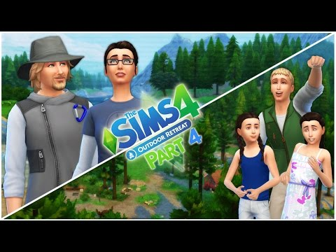 Let's Play the Sims 4 Outdoor Retreat (Part 4) Homemade Insect Repellant