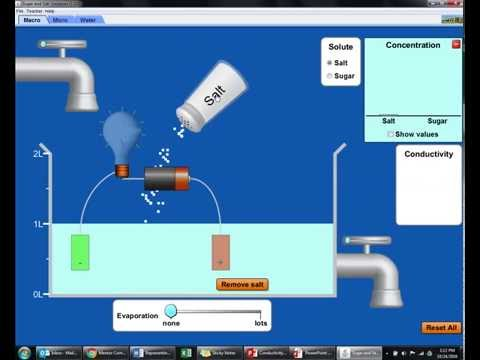 Salt Solutions and Electrical Conductivity