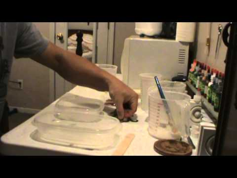 How to Make a Soft Plastic Bait Mold Part 1 (senkos)