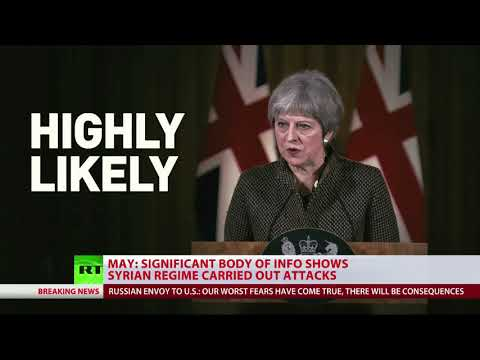 Theresa May: Syrian strikes 'limited, targeted & effective'
