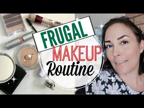 💥 FAST, SIMPLE, FRUGAL NO MAKEUP LOOK ● EVERYDAY TUTORIAL ● EVERYDAY MAKEUP ROUTINE ● NO FOUNDATION