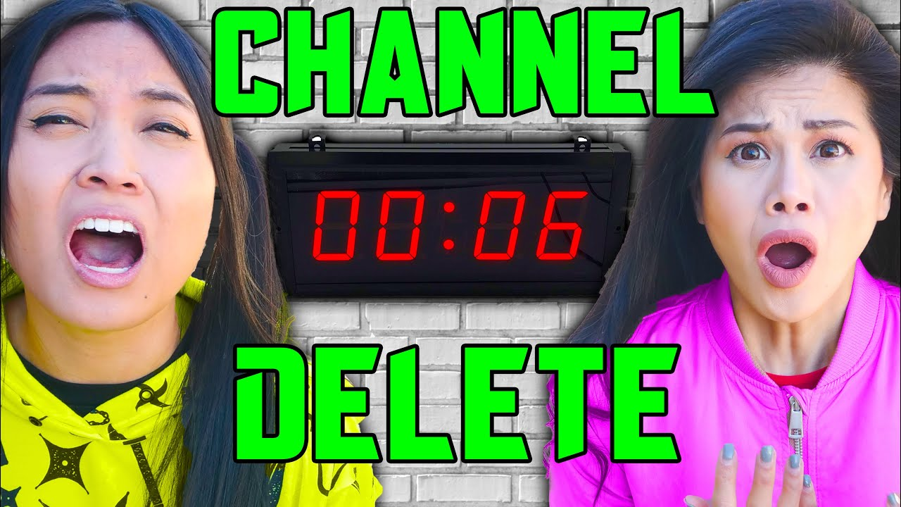 TODAY My YouTube Channel Gets DELETED!