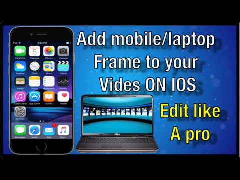 HOW TO ADD A MOBILE PHONE TO YOUR VIDEOS ON IOS.
