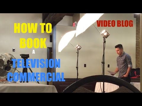 How to Book a TV Commercial