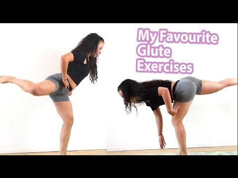 My Favourite Glute Exercises // Build Your Butt With These Bodyweight Exercses