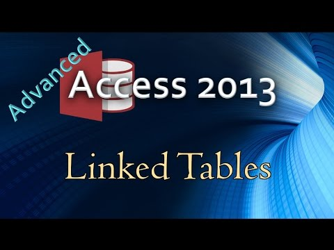 7. (Advanced Programming In Access 2013) Linking Tables From An ODBC Connection To Access