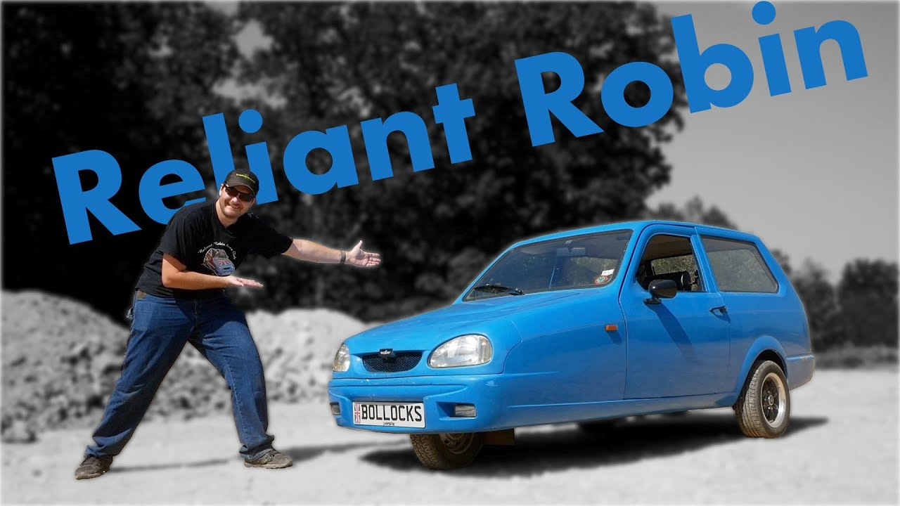 I Bought a Reliant Robin!