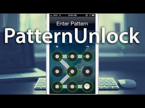 PatternUnlock - Android Inspired Passcode Unlock for iPhone
