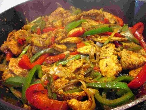 The Best Mexican Chicken Fajitas Recipe- Cooking Chicken Fajitas My Way