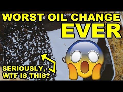 SLUDGE! 13 Year Late Oil Change & First Start - Daihatsu Cuore Avanzato TR-XX R4 Project Episode 2