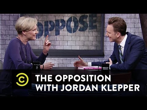 "Cecile Richards - Planned Parenthood & ""Make Trouble"" - The Opposition w/ Jordan Klepper"