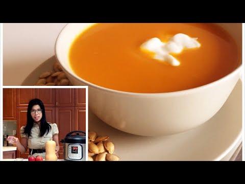 Butternut Squash Soup - INSTANT POT Soup - INSTANT POT butternut squash soup recipe