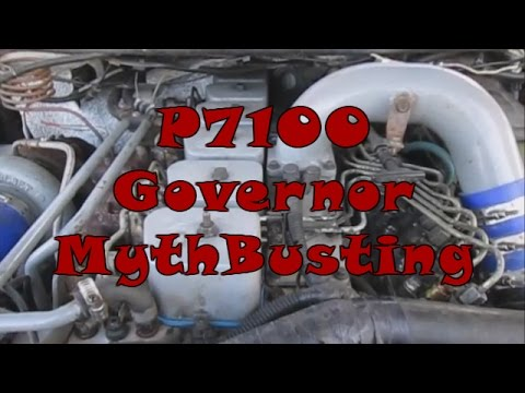 MythBusting with CumminsWorks - P7100 Governor