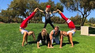 extreme yoga challenge ft sav cole everleigh