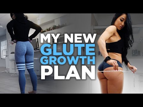 My New Plan To Optimize Glute Growth | DAY 1 (Bulking in 2018)