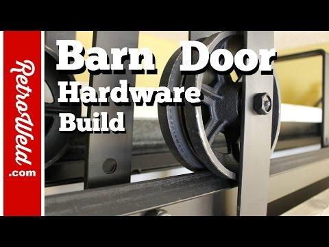 🔴 Barn Door Hardware Build