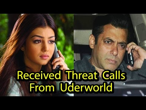 Bollywood Celebs Who Received Death Threats From Underworld