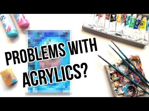 How to Make Acrylic Paint Vibrant, Opaque & Brighter