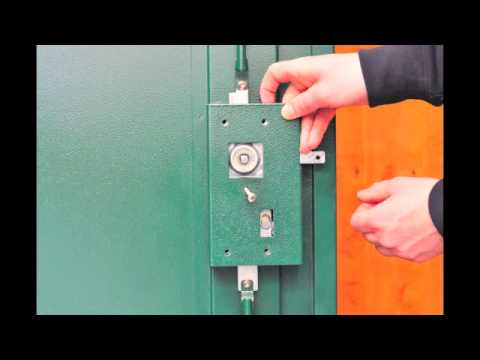 Replacing a Lock Asgard Metal Shed Lock