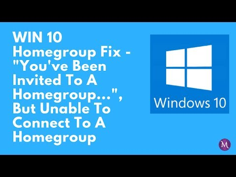 WIN 10 Homegroup Fix (REVISED AUDIO) Revision Uploaded 7/3/17