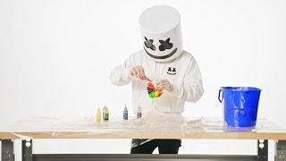 How To: Tie Dye a Marshmello T-Shirt