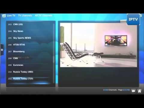 XBMC IPTV setup 2014 ( Live TV and Sports Channels)
