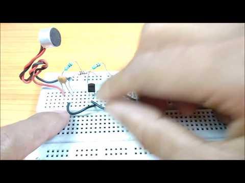 Music Rhythm control dancing led using microphone||DIY