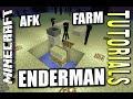 Minecraft PS4 - ENDERMAN FARM - AFK - Tutorial ( PE / PS3 / XBOX / WII U )