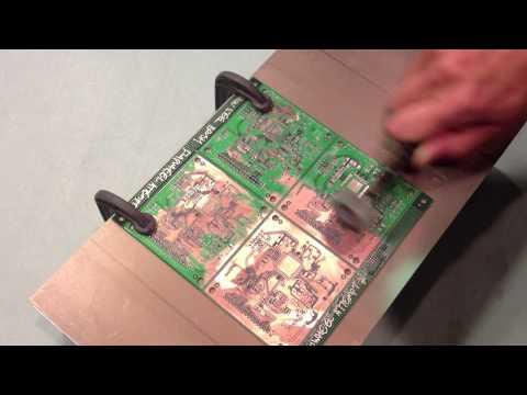 PCB Solder Mask Removal: Dremel Flapwheel