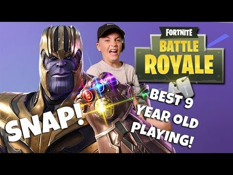 FORTNITE: BEST 9 YEAR OLD PLAYING FORTNITE BATTLES? (ROCCO PIAZZA)