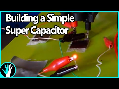 How To Make A Supercapacitor (Part 1: EDLCs)