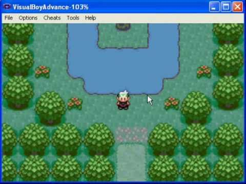 Southern Island in Pokemon Emerald