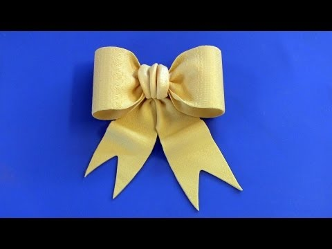 Fondant Bow Tutorial -- Bow Tie Style