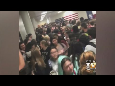 Chaos At Cleburne High School