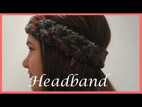 How to Knit a Braided Headband