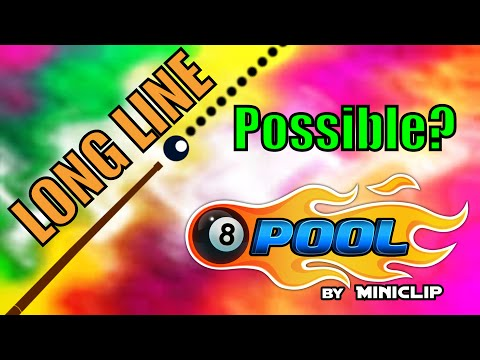 Possible? or Impossible? Long Line Hack | 8 Ball Pool
