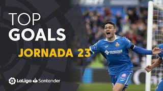 Todos los goles de la Jornada 23 de LaLiga Santander 2019/2020