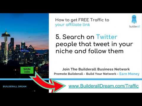 How to get FREE Traffic to your affiliate link