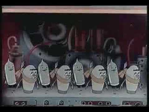 historic Telefunken commercial