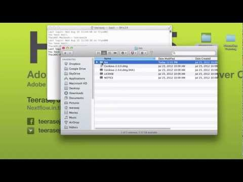 How to open Terminal from selected folder in Finder (Thai/ไทย)