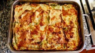 Pasta Grannies discover asparagus lasagna from Le Marche!