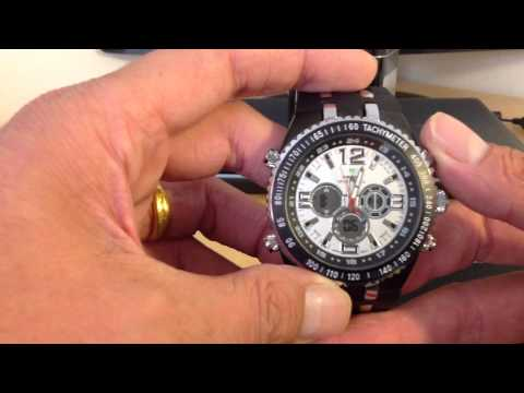 Setting up your Weide Shark watch LCD Digital SET